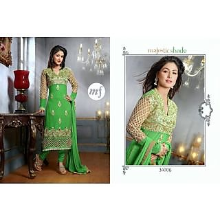 Elegant Green Suit Hinari Wedding Collection Catalogue By Hina Khan