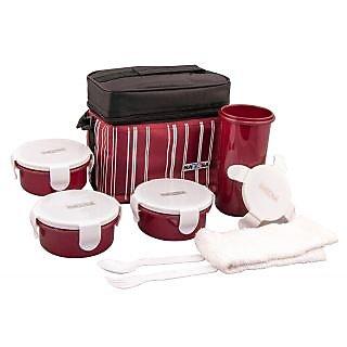 Nayasa  Toasty_Big_Lunch_Box-Red Nayasa Toasty Red