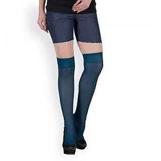 Camey Pack of 2 Blue knee High Women Socks