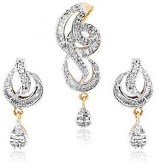 Sheetal Jewellery Elegant Motif Pendant Set