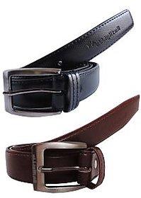 Elligator Black and Brown Belt for Men