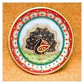 marble mayur plate
