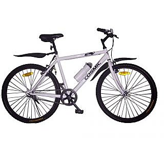 Cosmic Jus Bike Mtb Bicycle White