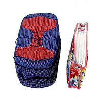 Kuber Industries Shoe cover & Travelling kit 2 pcs combo