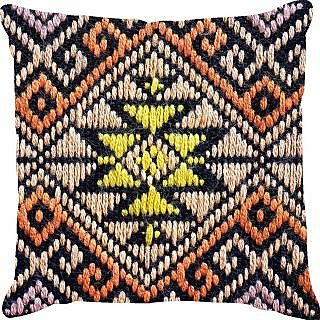 Ambbi Collections Weave Printed Cushion Cover (Cus-3384)
