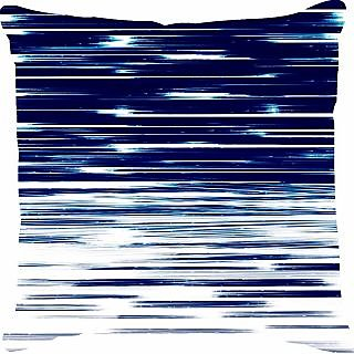 Ambbi Collections Abstract  Stripe Printed Cushion Cover (Cus-3405)