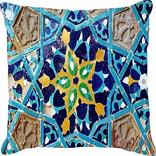 Ambbi Collections Ethnic Printed Cushion Cover (Cus-3536)