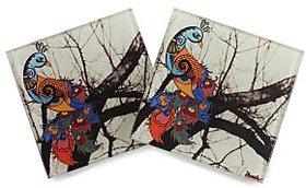 Unique Peacock Coasters