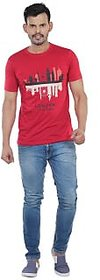 Vacuum Tshirts 100% Superior Pima Cotton Round Neck London Printed T-Shirt