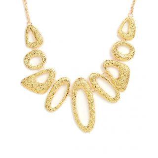 Hollow Gold Chocker Necklace
