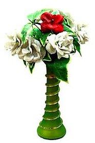 Anshul Fashion Glass Flower Vase /Office Purpose Flower....