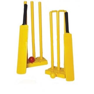 Navex Plastic Cricket Kit Full Size (15 Pieces) set