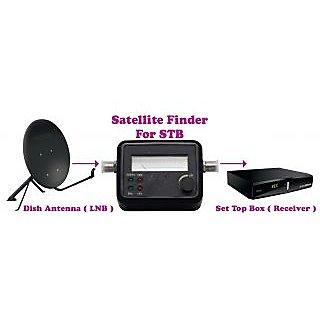 Gadget Hero's Satellite Signal Finder Meter For Sat Dish Antenna, LNB, STB