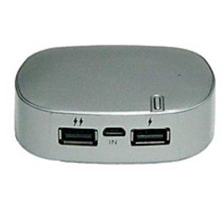 Technofirst Powerbank 6000 Mah Fast Charging Silky Silver
