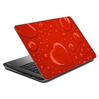 MeSleep Red Hearts Laptop Skin LS-01-43