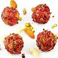 Ghasitarams Rose Petal Strawberry Balls 500 Gms