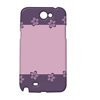 Pickpattern Back Cover For Samsung Galaxy Note 2 N7100 LAVENDERLAYERSNT2