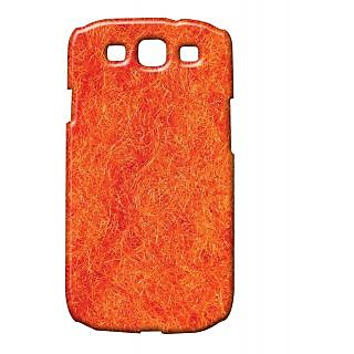 Pickpattern Back Cover For Samsung Galaxy S3 I9300 ORANGEMESHS3