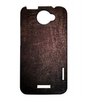 Pickpattern Back Cover For Htc One X METALLICGLOW1X