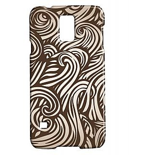 Pickpattern Back Cover For Samsung Galaxy S5 Sm-G900I BRONZEWAVESS5