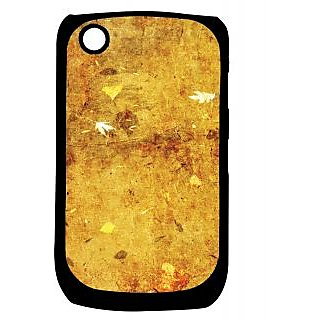 Pickpattern Back Cover For Blackberry Curve 8520 DIRTYLEAFY8520