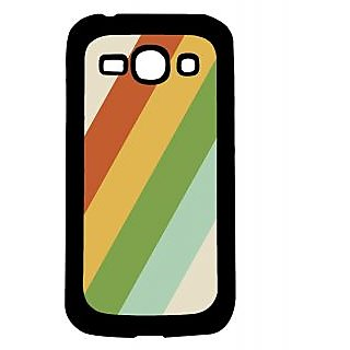 Pickpattern Back Cover For Samsung Galaxy Ace 3 S7272 VINTAGERAINBOWACE3