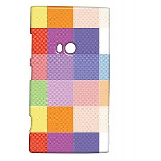Pickpattern Back Cover For Nokia Lumia 920 COLOURFULCHECKERED920