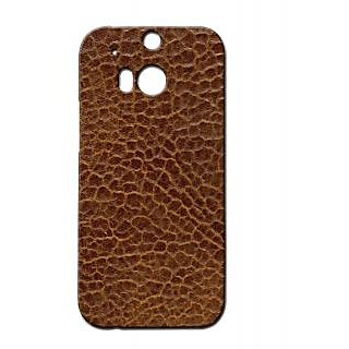 Pickpattern Back Cover For Htc One M/8 LEATHERTEXTURE1M8
