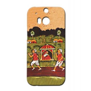 Pickpattern Back Cover For Htc One M/8 PALKIART1M8