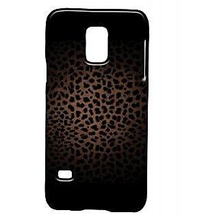 Pickpattern Back Cover For Samsung Galaxy S5 Mini Sm - G800H BLACKCHEETAHS5M