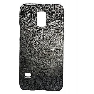Pickpattern Back Cover For Samsung Galaxy S5 Mini Sm - G800H BLACKROOMS5M