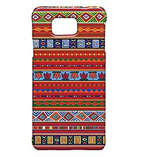 Pickpattern Back Cover For Samsung Alpha COLOURFULTRIBALSALP