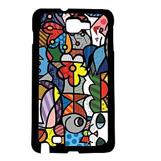 Pickpattern Back Cover For Samsung Galaxy Note 1 N7000 PETSARTNT1