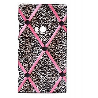 Pickpattern Back Cover For Nokia Lumia 920 PINKCHEETAH920