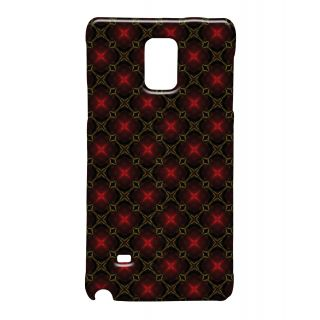 Pickpattern Back Cover For Samsung Galaxy Note 4 VINTAGECHRISTMASNT4