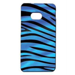 Pickpattern Back Cover For Htc One Single Sim BLUEZEBRA1