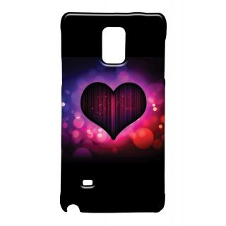 Pickpattern Back Cover For Samsung Galaxy Note 4 BOKEHHEARTNT4