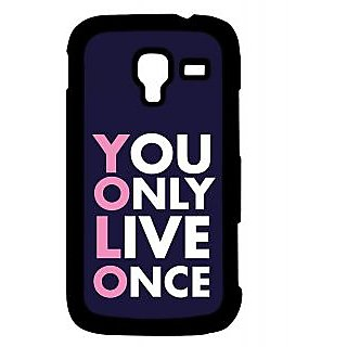 Pickpattern Back Cover For Samsung Galaxy Ace 2 I8160 YOLOPINKACE2