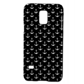 Pickpattern Back Cover For Samsung Galaxy S5 Mini Sm - G800H BLACKANCHORSS5M