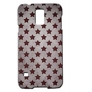 Pickpattern Back Cover For Samsung Galaxy S5 Sm-G900I MAUVESTARSS5