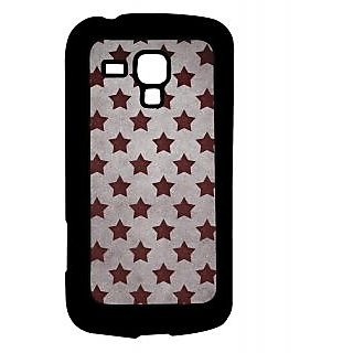 Pickpattern Back Cover For Samsung Galaxy S Duos S7582 MAUVESTARSSDS