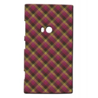 Pickpattern Back Cover For Nokia Lumia 920 MAGENTACHECKERED920