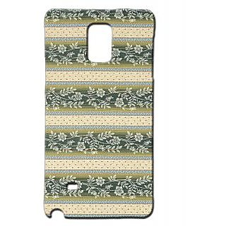 Pickpattern Back Cover For Samsung Galaxy Note 4 VINTAGEFABRICNT4