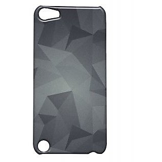 Pickpattern Back Cover For Apple iTouch 5 METALLICDUSTIT5
