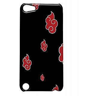 Pickpattern Back Cover For Apple iTouch 5 NARUTOREDIT5