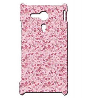 Pickpattern Back Cover For Sony Xperia SP PRETTYPINKSP
