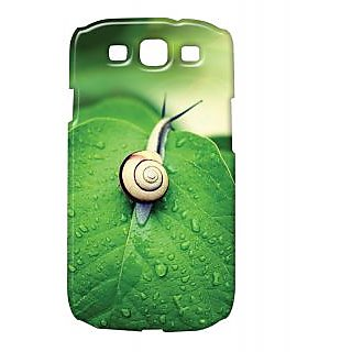 Pickpattern Back Cover For Samsung Galaxy S3 i9300 SNAILLEAFS3