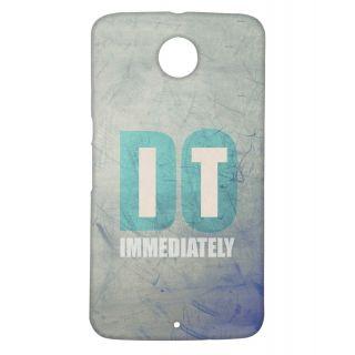 Pickpattern Back Cover For Motorola Google Nexus 6 DOITN6 - Design17073