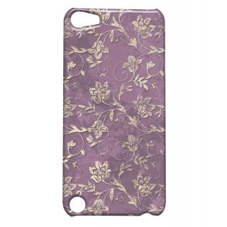 Pickpattern Back Cover For Apple iTouch 5 MAUVEGOLDIT5