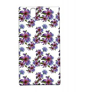 Pickpattern Back Cover For Sony Xperia Z NIGHTFLOWERXZ